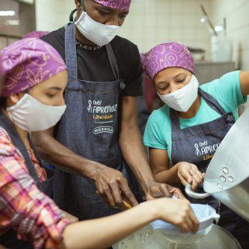 Wickbold renova o apoio para nova edição do projeto social Chef Aprendiz