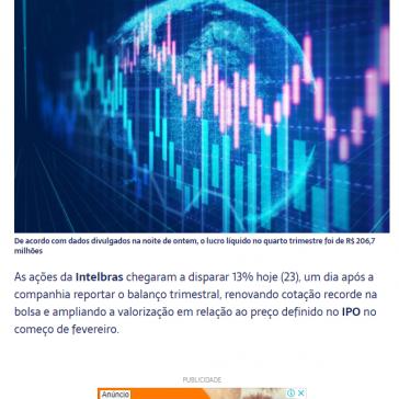 Intelbras dispara 13% após salto no lucro do 4º trimestre – Forbes