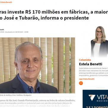 Intelbras investe R$ 170 milhões em fábricas, a maior parte em São José e Tubarão, informa o presidente – NSC Total