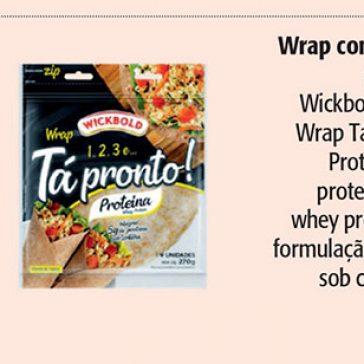 Wrap com whey protein – Ana Maria Receitas (Revista Ana Maria)