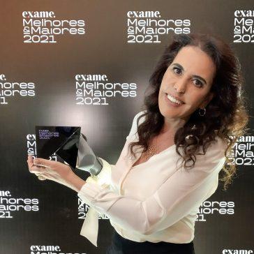 Alcione Albanesi, da Amigos do Bem, ganha prêmio Melhores & Maiores